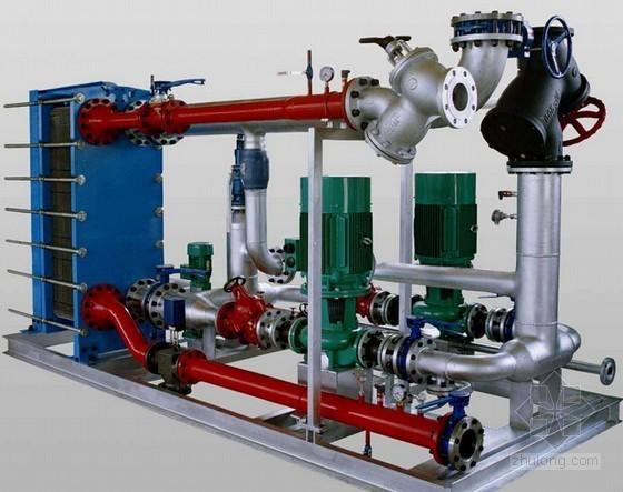 换热站供热管道阀门及设备安装工程量清单计价实例(含施工图纸)