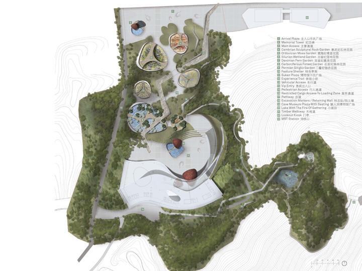[南京]国家著名博物馆广场建成方案概念设计稿(国际知名事务所)