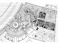 [沈阳]自然式商业示范区及别墅区景观设计施工图
