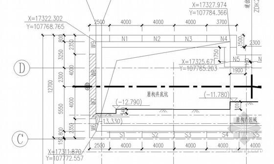 [广东]盾构接收井内衬墙模板施工方案
