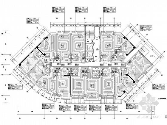 高层商业住宅楼采暖通风系统设计施工图