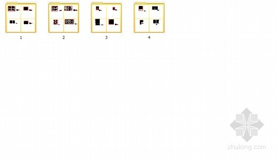 全套各式室内设计CAD图块 总缩略图