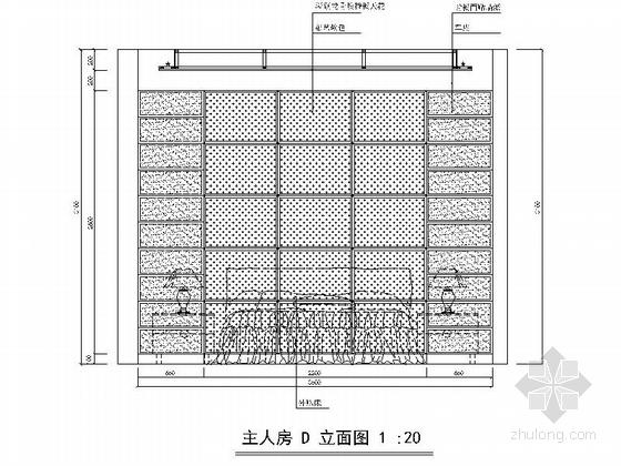 [广州]三室两厅简欧风格室内装修图 立面