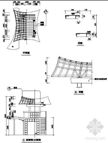 特色门楼设计施工图