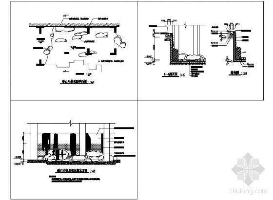 叠石水幕详图-4