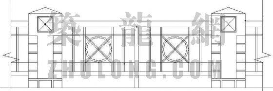某小区栏杆施工图