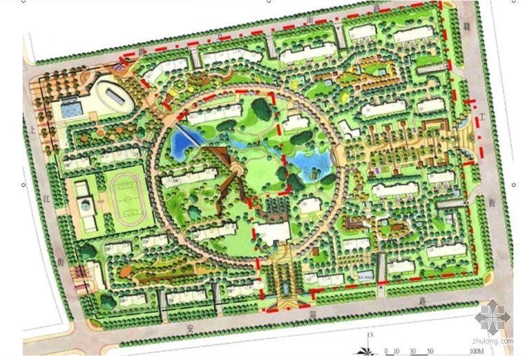 高档小区景观设计文本全套