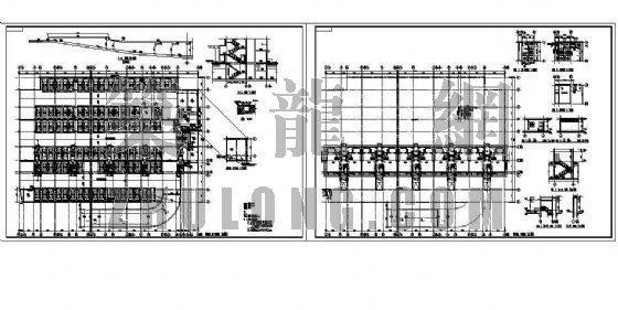 停车场建筑施工图