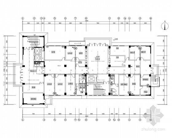 [甘肃]某医院门诊部建筑给排水施工图纸(含说明书)