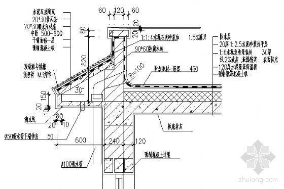 各类檐口施工图设计总汇-3