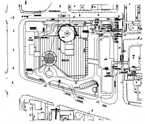 某医院锅炉房及食堂燃气供应设计图