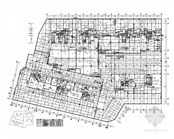 [河南]13层住宅楼消防自动报警控制系统(2013年新火规 地下室)