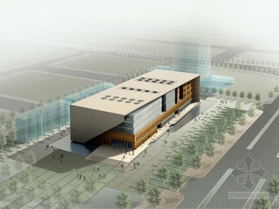 [河北]5层行政办公楼建筑设计方案文本(含cad 精品方案 资料齐全)