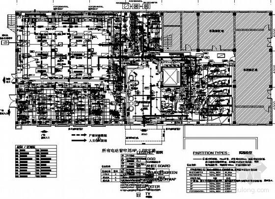 成都某医院解剖实验室装修改造工程强电气图纸