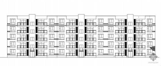 [河南]某五层普通住宅楼建筑施工图(有效果图)