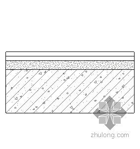 钢挂瓦条金属板屋面(无保温隔热)