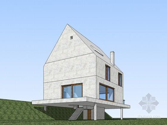鲁丁住宅SketchUp模型下载