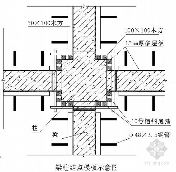 [北京]工业厂房地下室模板工程施工方案(胎膜、木模、小钢模)