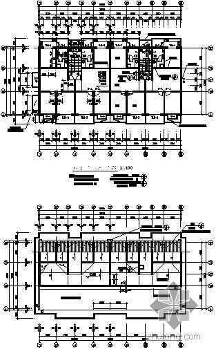 某县抗旱服务站六层商宅楼建筑施工图-3