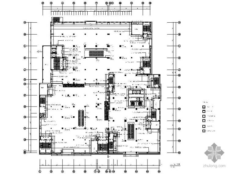[辽宁]某大型百货商场第四层室内装修图_1