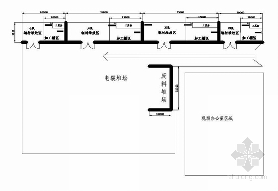 上海某炼铁工程机电设备安装竣工图