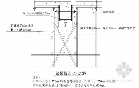 [甘肃]框剪结构大剧院兼会议中心高支模施工方案