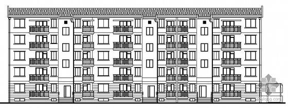 [上海]某乡镇小区配套商品房一号地块建筑结构水电动力施工图