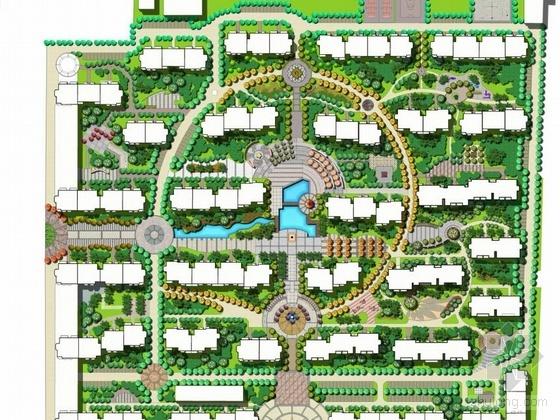 内蒙花园小区景观设计方案