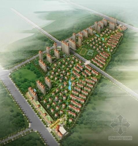 [江苏]江阴某住宅小区规划及建筑方案文本