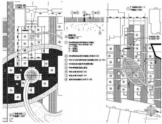 [武汉]小区花园绿化带公园及商业步行街景观扩初设计