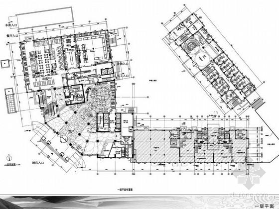 [河北]现代高档五星级国际商务酒店设计方案图