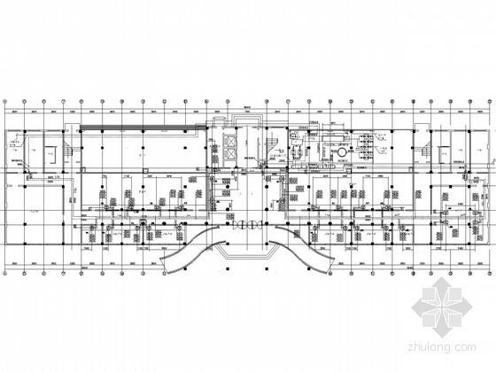 高层行政办公楼暖通空调及防排烟系统设计施工图(含动力工程)