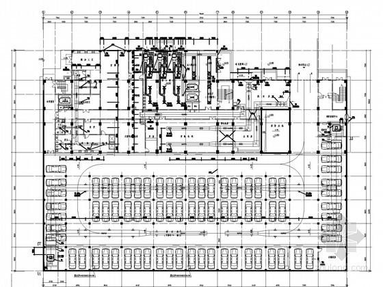 [湖北]多层门诊住院综合楼空调通风及防排烟系统设计施工图(大院设计)