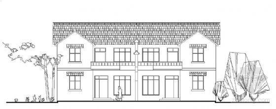新型农村双拼独院式住宅建筑设计方案