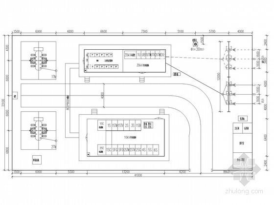 35kV变电站新建工程电气施工图纸(含初步设计说明书)