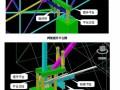 [辽宁]屋面网架结构液压提升施工方案(三维效果图)