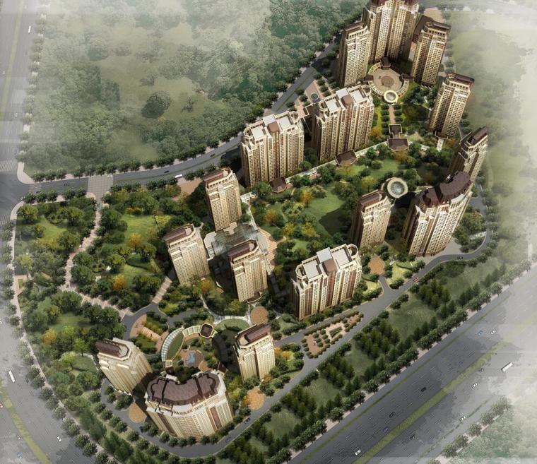 [吉林]万科五里河建筑方案文本设计(JPG+31页)