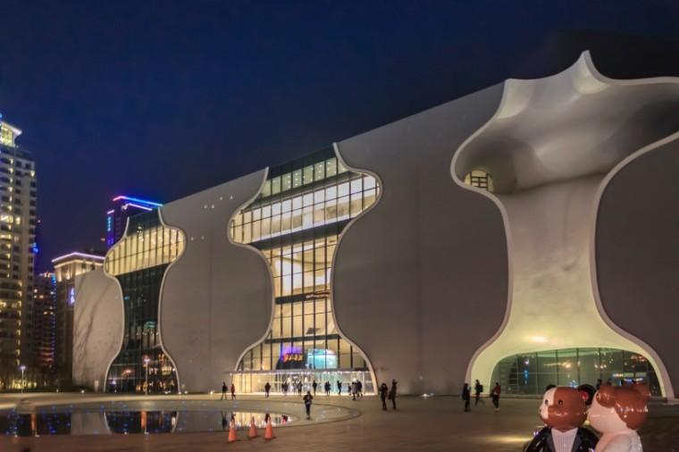 伊东丰雄经典作品台中大都会歌剧院即将完工-台中大都会歌剧院