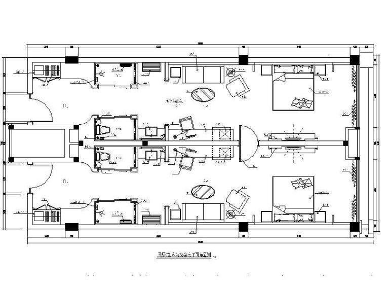 [成都]某假日酒店客房部分设计施工图(含效果图)