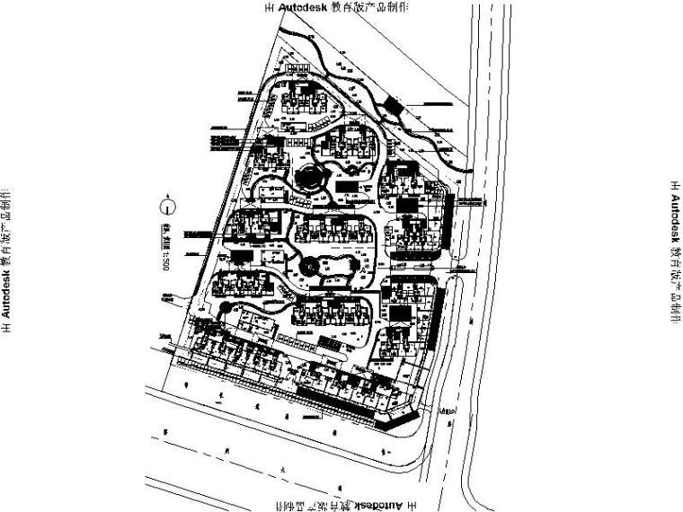[浙江]拆迁安置小区景观设计施工图