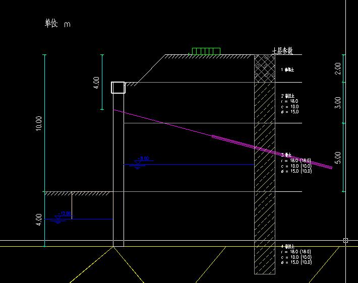 用理正深基坑7.0导出的cad图,土层的填充图案和字母φ无法显示