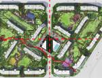 [北京]现代化环保居住区景观设计深化方案