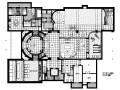 [北京]法式古典贵族风格别墅室内设计施工图