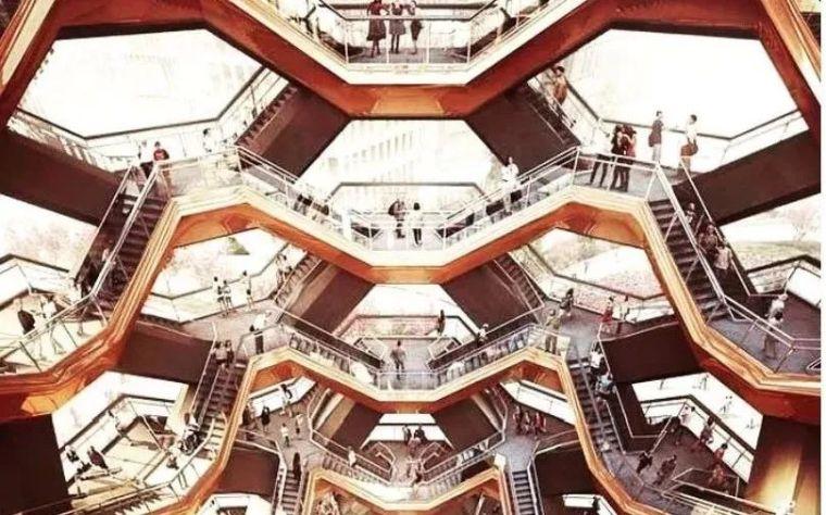 vessel楼梯资料下载-建模拆析之设计鬼才的公共巨构楼梯