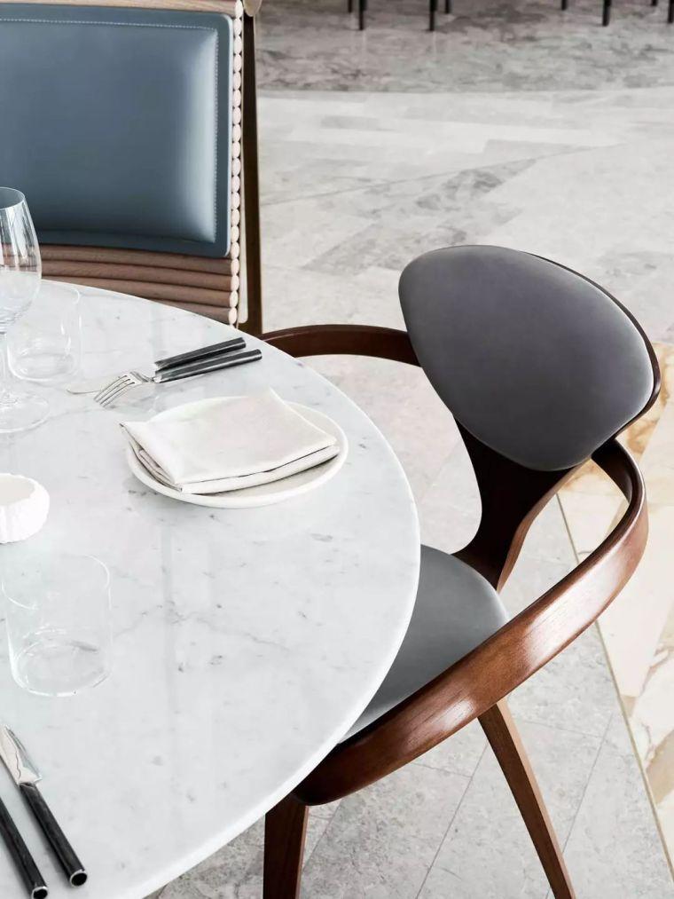 迪拜地标旁的2000平米超大餐厅,精致细节成就奢华设计_14