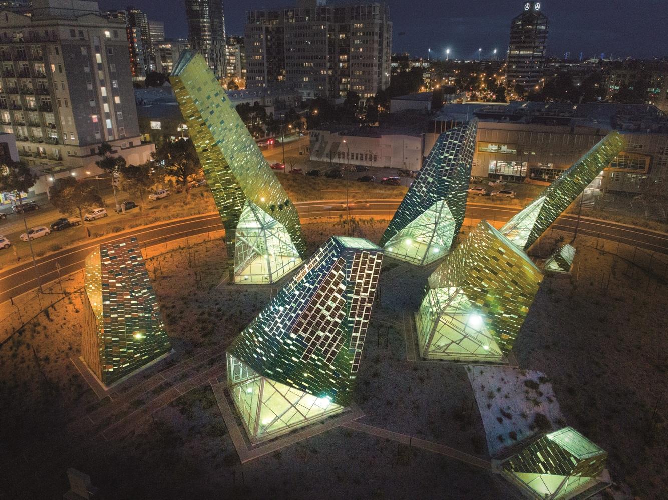 澳大利亚雕塑装置及动物庇护所