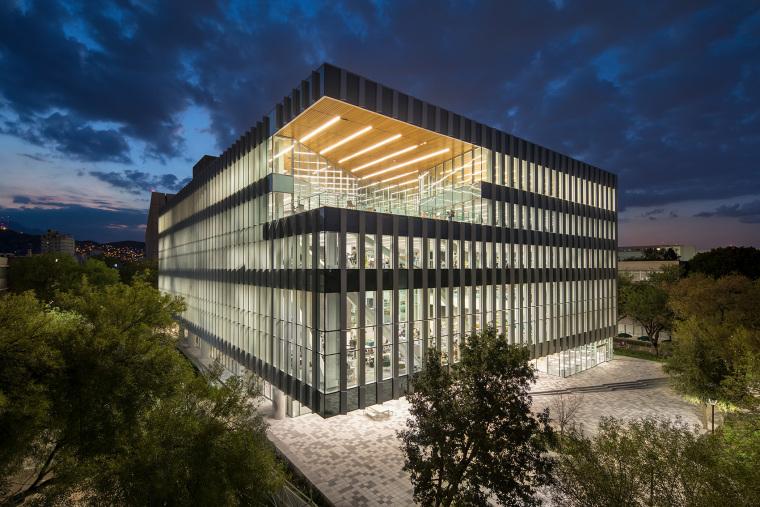墨西哥蒙特雷科技大学新图书馆