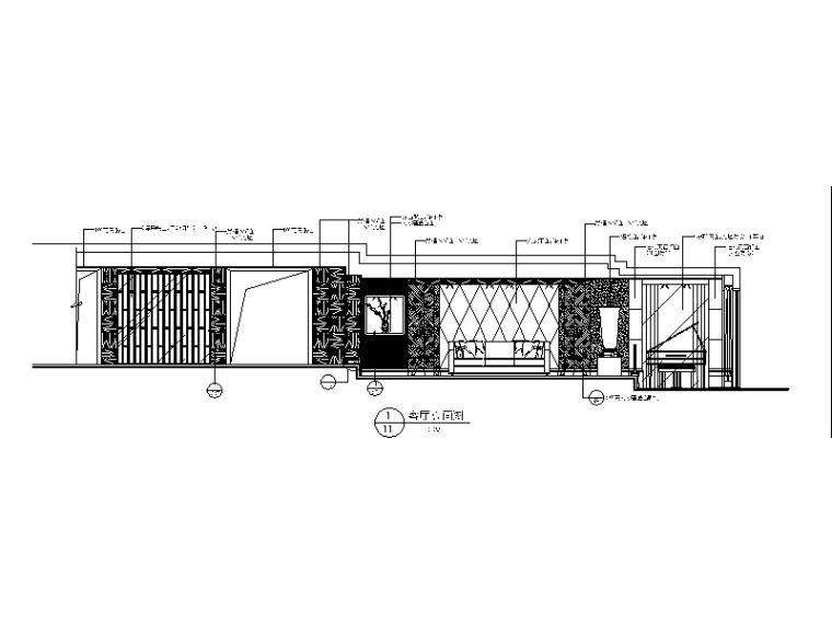 【北京】两套时尚经典别墅设计CAD施工图二_2