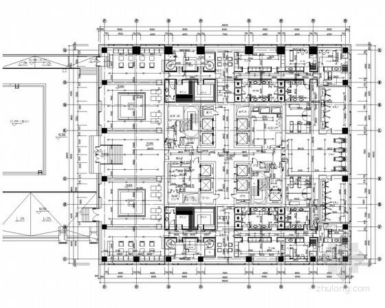 [北京]商业综合广场给排水图纸(写字楼、公寓、酒店)