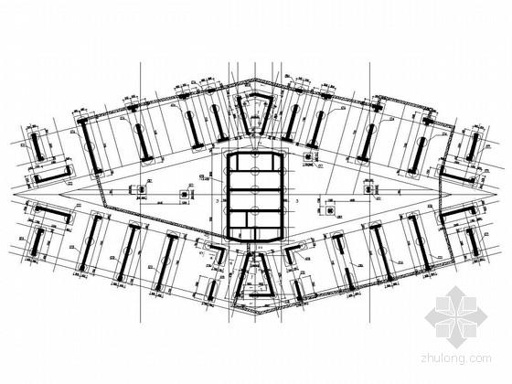 [湖南]44层剪力墙超高层住宅结构施工图(超限审查项目、2013年7月出图)